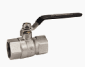 Medium ball valve